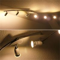 LED Deckenleuchte für gezielte Lichtakzente im Wohnbereich