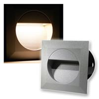 LED wall light WEL Q14 | warm white | IP65 | 230V/1,2W