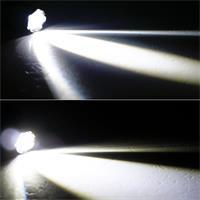 LED Strinlampe mitfokussierbarem Dauerlicht