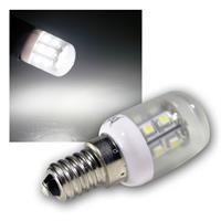 LED-Kühlschranklampe, 18 SMDs tageslicht-weiss E14