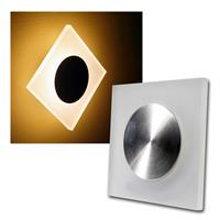 "LED wall light ""WL 18"" warm white, IP20, 230V,80lm"