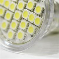 LED Leuchtmittel GU10 in Halogenoptik mit 24x lichtstarken 3528 SMD LEDs