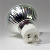 LED Energiesparlampe GU10 für 230V mit Sockel GU10 und nur ca. 3W Verbrauch