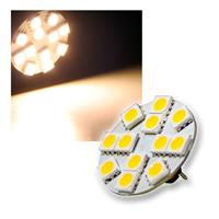 1x LED light bulb | G4 | 12x5050 SMD | 12V/1.2W | 150lm