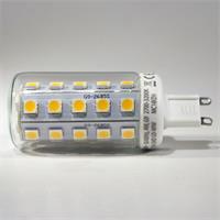 G9 LED Strahler 230V mit 34 superhellen 3-Chip 5050 Power SMD LEDs
