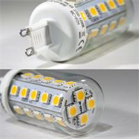 Energiesparlampe LED 230V AC/DC Sockel G9 mit nur ca. 4,0W Verbrauch
