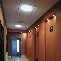 LED Leuchte für den Innenbereich mit Mikrowellen-Bewegungsmelder