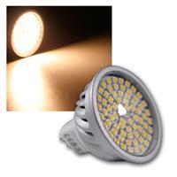 """LED-Strahler MR16, 70 LEDs """"H50 SMD"""" warm-weiß"""