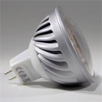 MR16 LED Energiesparlampe 50x52mm und bündig abschließender Front mit Glas Cover