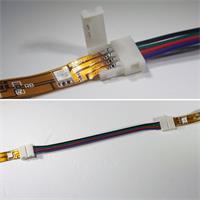 Click Verbindungskabel für zwei flexible RGB LED Streifen