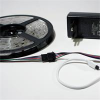 kürzbare LED Beleuchtung mit 10cm langem Anschluß-Stecker