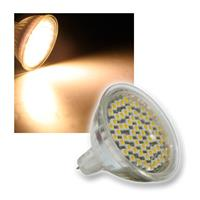 LED-Strahler 60x 3528 SMD LEDs MR16 warm-weiß 3,3W