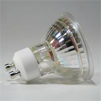 GU10 LED Spot mit abschließender Glas-Cover-Front und dem Maß 50x56mm
