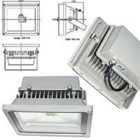 LED Highpower Strahler aus Aluminium Spritzguss