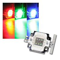 LED Highpower Chip 10W RGB, SQUARE, 350mA je Farbe