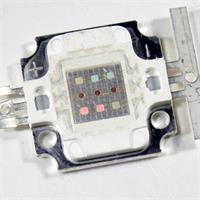 RGB HighPower LED mit 9 LED-Chips in einer Linse