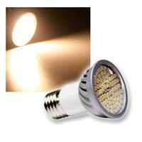 "Strahler E27, 70 SMD LEDs ""H50 Pro"" warmweiß 385lm"