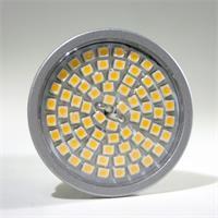 LED Strahler in Halogenoptik mit 70 lichtstarken 3528 SMD LEDs