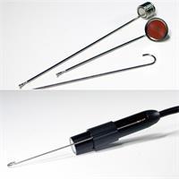 Rohrkamera mit Magnet, Haken und Spiegel für die Endoskop-Spitze