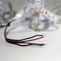 LED SMD flexibler Streifen mit Anschlusskabel für Stromversorgung