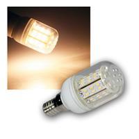 LED-Kühlschranklampe, 48x 3014 SMDs warmweiß E14