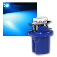 PNP LED Birne B8.5d BAX10d T5 blau Lampe 12V