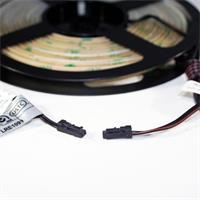 LED Strip im Silikonmantel vergossen mit Ministeckverbinder