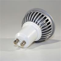LED Energiesparlampe GU10 für 230V mit Sockel GU10 und nur ca. 6W Verbrauch