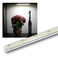 1x LED light bar with 15 LEDs, neutral white