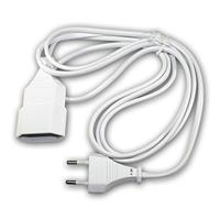 Euro extension white 2m, extension cable