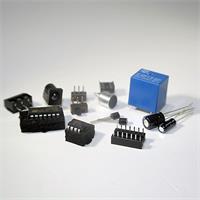 Geräuschschalter mit verschiedenen Relais und Steckdose für DC-Adapter