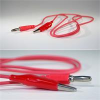 rotes und flexibles Qualitätskabel als Zubehör für Multimeter