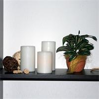 LED Stumpenkerzen mit warmen und lebendigen Licht