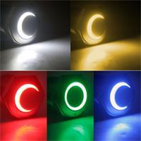 Vollmetall-Druckschalter mit oder ohne LED-Leuchtring