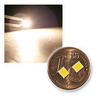 10 LEDs SMD 2835 white, 19-21lm, 3.000K, 60mA