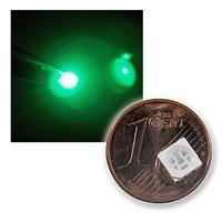 10 SMD 5050 LED green, 3-chip high power