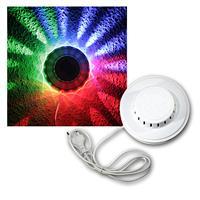 UFO Licht-Effekt mit 48 bunten LEDs, 230V/10W