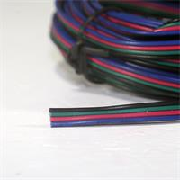hochflexible Litze zum Anklemmen bzw. Anschließen von RGB-LEDs