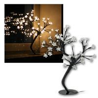 "45cm Baum ""Blüte"" 48 warmweiße LEDs, Batteriebetri"