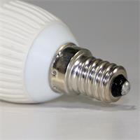 LED Kerzenleuchte dimmbar mit Sockel E14 für 230V und nur ca. 5W Verbrauch