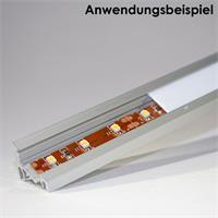 Winkelprofil für LED Streifen bis zu 10mm Breite