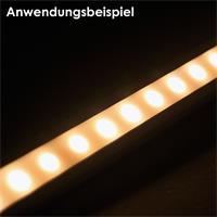 Aluminium-Winkelprofil für LED Streifen bis zu 10mm Breite