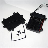 Batterie-Lichterkette für außen mit 96 LEDs