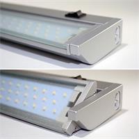LED Leuchtleiste mit Aluminium Gehäuse und Glasabdeckung