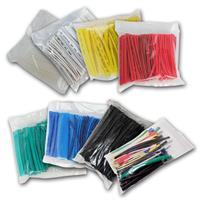 Shrink tubing set 100 pcs. | 10cm long | in bag | 8 colours