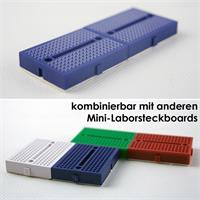 Experimentierplatine ist kombinierbar mit weiteren Mini-Boards
