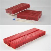 2 Mini-Laborsteckboards in 4 Farbvarianten zum lötfreien Experimentieren