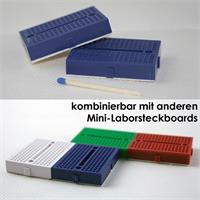 Lötfreie Mini-Laborsteckboards im 2er Set mit je 170Kontakten