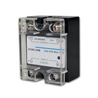 elektr. Lastrelais (Triac) 3-32VDC / 30-240VAC 40A
