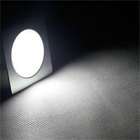 LED Einbaustrahler mit 9 kalt-weißen LEDs und ca. 45lm Lichtstrom